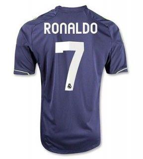 Adidas Cristiano Ronaldo 7 Real Madrid Away Soccer Jersey Navy