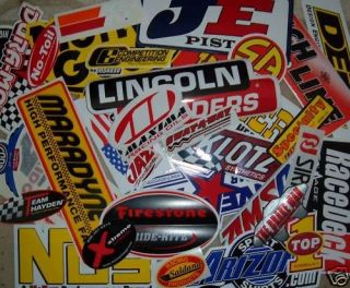 Racing Decals Sticker Set 25+ Grab Bag Monster Deal New