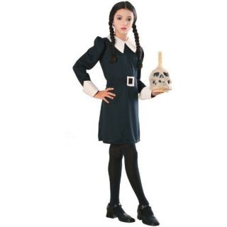 NEW Addams Family Child s Wednesday Addams Costume Large