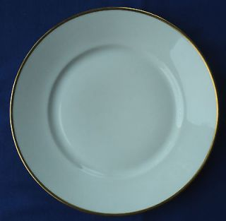 ROSENTHAL SELB BAVARIA 1473 AIDA WHITE WITH GOLD TRIM 9 7/8 inch