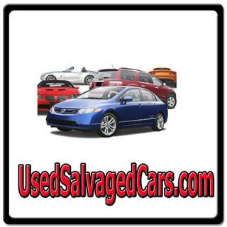 Used Salvaged Cars ONLINE WEB DOMAIN FOR SALE/SALVAGE VEHICLES