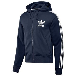ADIDAS ORIGINALS MENS FLOCK HOODY NAVY BLUE SIZE S M L XL NEW CASUALS