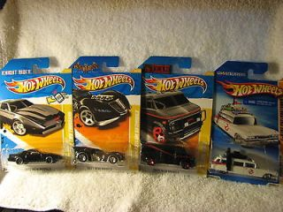 KNIGHT RIDER  KITT A TEAM VAN  BATMOBILE GHOSTBUSTERS ECTO 1