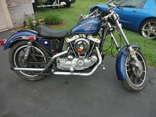 Harley Davidson  Sportster Harley Davidson Ironhead Sportster