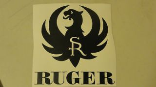 sturm ruger vinyl sticker decal pistol gun grips 10 22