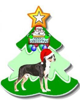 Christmas ornament Greater Swiss Mountain Dog metal new for 2012 gift