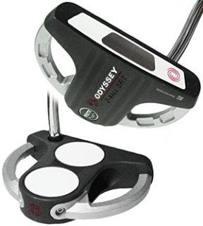 Odyssey White Steel 2 ball SRT Putter Golf Club