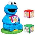 Sesame Street Cookie Monster Find and Learn Number Bloc