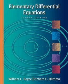 Elementary Differential Equations, with ODE Architect CD by William E