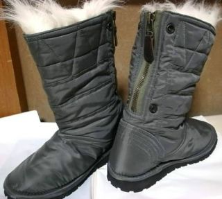 JUNYA WATANABE COMME des GARCONS__Milit​ary Nylon Boots__2010 A/W