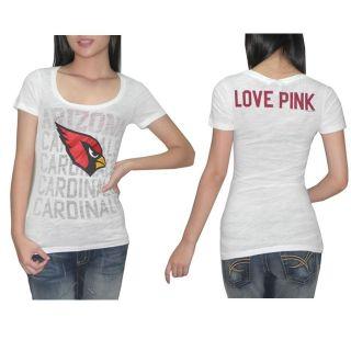 Secret Womens NFL Arizona Cardinals T Shirt   Medium (M)   New