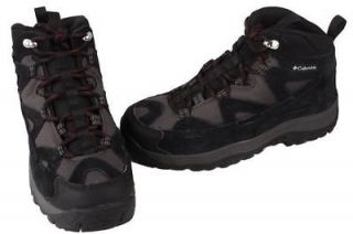 Columbia Coremic Ridge 2 MENS Black Hiking Boots Shoes Medium