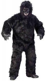 Gorilla Suit Full Body King Kong Costume Adult Mens Unisex Furry Ape