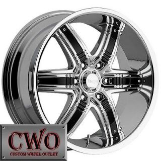 Viscera 777 Wheels Rim 5x127 5 Lug Chevy GMC C1500 Jeep Wrangler Astro