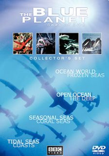 The Blue Planet Seas of Life   4 Pack DVD, 2002, 4 Disc Set, Four