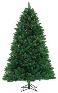 Highland Pine Pre Lit Artificial Christmas Tree 300 Mini LED Lights