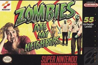 Zombies Ate My Neighbors Super Nintendo, 1993