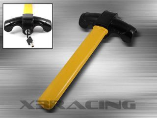 STRONG IRON TOP STEERING WHEEL ANTI THEFT LOCK LOCKING SYSTEM SECURITY