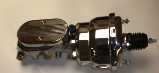 1955 1956 1957 chevy chrome brake booster master (Fits 1955 Chevrolet