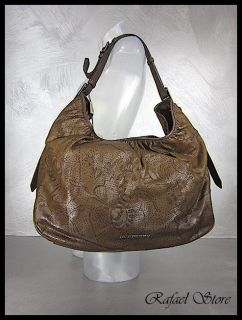 Woman Shoulder Bag All LG Avondale Nutmag Brown Leather Luxury New