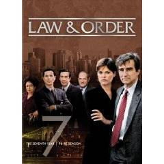 Law Order The Seventh Year DVD, 2010, 5 Disc Set
