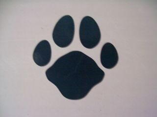 50 New RV Boat Car Trailer Camper Graphic Decal Small Cougar Tracks