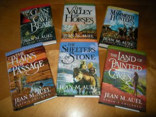 Jean M. Auels EARTHS CHILDREN Saga6 NEW Hardcovers$10 discount
