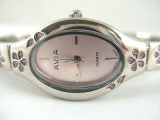 Newly listed Ladies Avia Diamante Watch With Pink Face AVLS