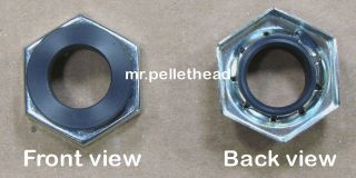 PELLET STOVE REPLACEMENT LOWER AUGER BEARING   NYLATRON STYLE (4000