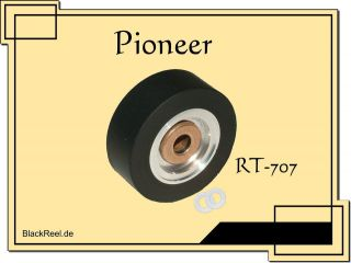 Pinch roller for Pioneer RT 707 RT 707 Rubber roller Reel to Reel