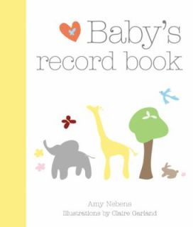 Babys Record Book 2008 by Amy Nebens 2008, Hardcover, Special