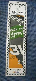 Baby Fanatic NASCAR Wooden Growth Chart Jeff Burton #31
