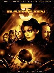 Babylon 5   The Complete Fifth Season DVD, 2004, 6 Disc Set