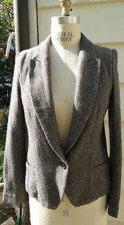 Hot French Designer Etoile ISABEL MARANT Wool Tweed Blazer Jacket 3