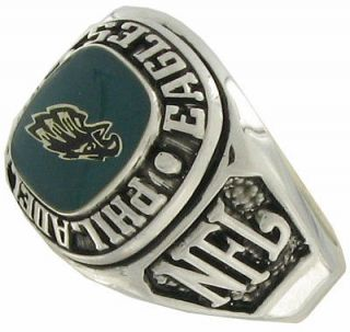 Balfour Ring Boxed Football Nfl Philadelphia Eagles Sz 9