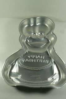 Wilton 1982 Muppets Cookie Monster Birthday Party Baking Cake pan new