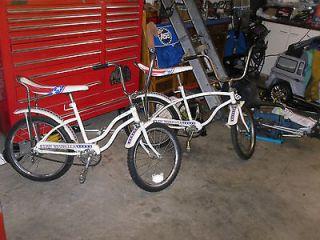 Huffy Bike Boy Girl 76 Bicentennial Bicycle Banana Seat Star Muscel