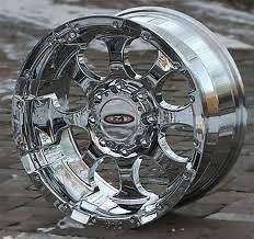 Moto Metal 955 20x10 Chrome Wheels Chevy Dodge Ford