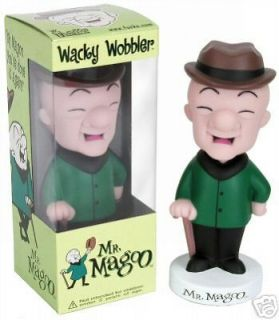 FUNKO MR MAGOO WACKY WOBBLER BOBBLEHEAD BOBBLE HEAD