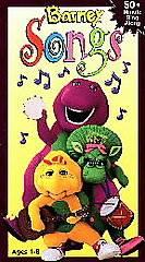 Barney   Barney Songs VHS, 1995