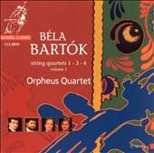 Bartok String Quartets 1, 3, & 4 by Charles André Linale (CD, Jul