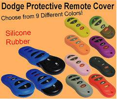Dodge, Chrysler, Jeep, Keyless Remote Fob Cover skin case clicker