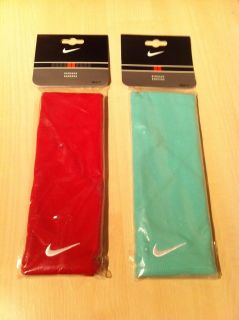 Nike Dri Fit Tennis Bandana Red Green New