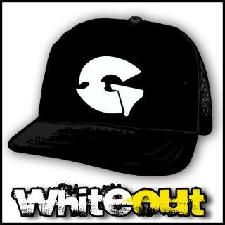 GZA WU TANG CLAN ODB HIP HOP RAP BLACK TRUCKERS CAP MESH SNAPBACK HAT
