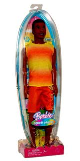 Mattel Barbie Beach Party Steven Doll