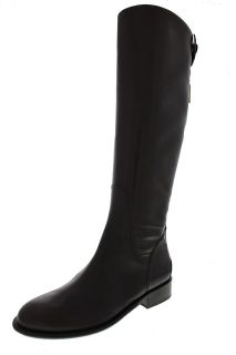 Franco Sarto NEW Rider Brown Leather Knee High Riding Boots Shoes 9.5