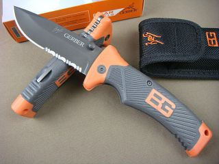 bear grylls ultimate knife folding in Collectibles