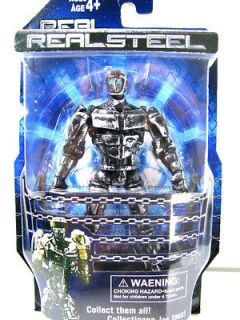 New Real Steel figures Twin Cities Midas Zeus Noisy Boy ( Atom ) Free