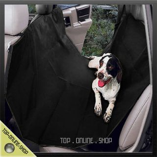 Dog Car Vehicle Back Rear Seat Black Hammock Cushion Bed Blanket Mat
