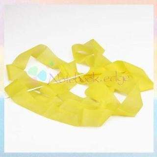 Yellow Gym Rhythmic Gymnastic Ballet Dance Ribbon Streamer Party